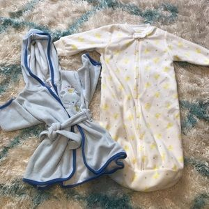 Other - Sleep sack and Robe 0-9 months